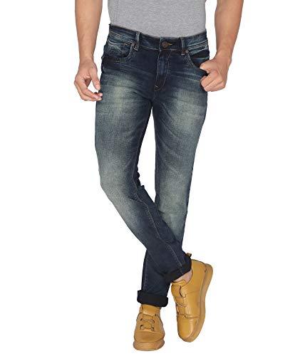 Road Rockers Skinny Blue Mens Jeans