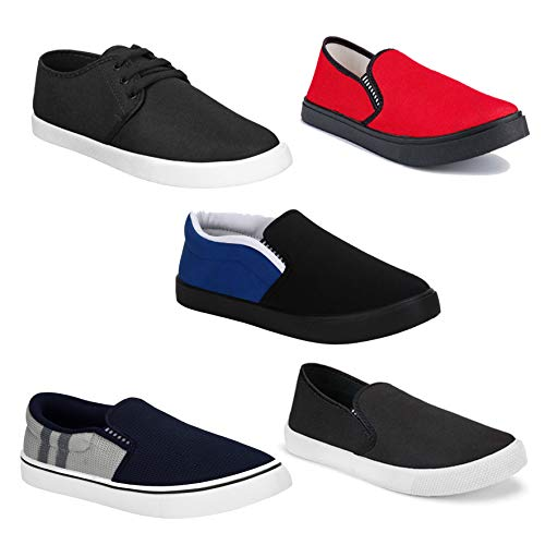Camfoot Men's Multi Running Shoes (Combo-(5)-761-349-1199-1140-725)