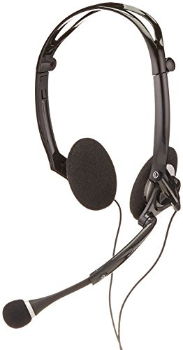 Plantronics .Audio DSP-400 Foldable Stereo Headset - Over-The-Head