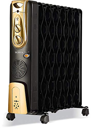SURYA ROSHNI 13 F OIL FILED RADIATOR ROOM HEATER WITH PTC (2500WATT)