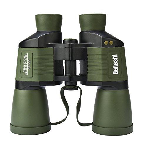 Docooler Lixada 20x50 Binoculars Telescope Illuminated Outdoor Birding Traveling Sightseeing Rangefinder Scale Binoculars