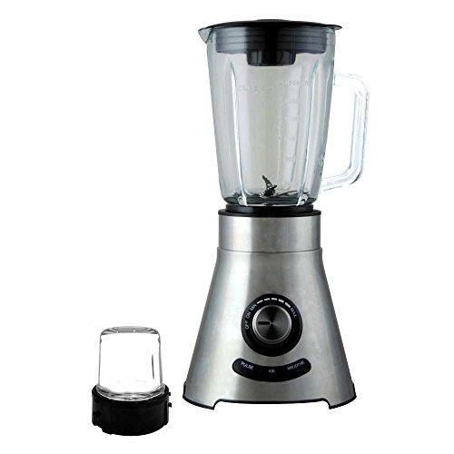 Wonderchef Prato Premium 600-Watt Mixer Grinder (Steel/Transparent)