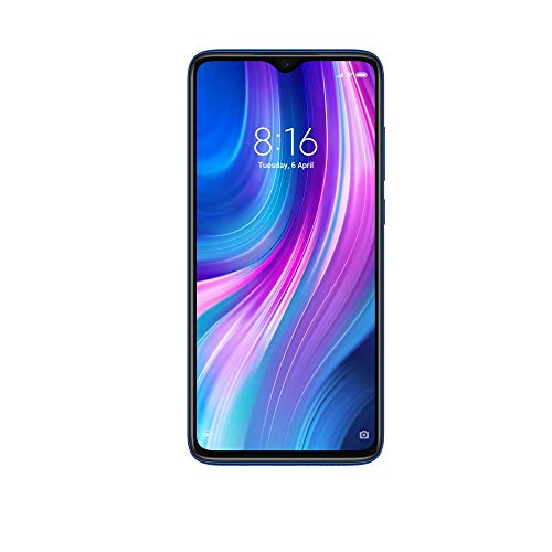 Xiaomi (Renewed) Redmi Note 8 Pro (Electric Blue, 6GB RAM, 64GB Storage with Helio G90T Processor)