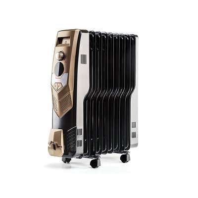 Usha OFR 3609 FW Oil Filed Radiator (Black)