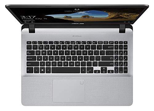 Saco Keyboard Protector Skin for Asus Vivobook 15 X507ua X507ub X507ud Yx560u Y5000 X507 X507u X560ud X560 15.6 Inch Laptop - Transparent