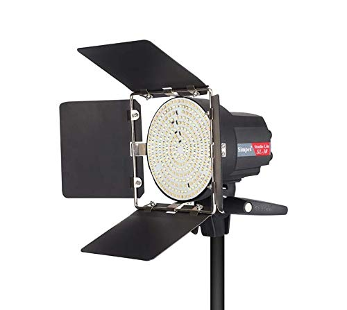 Simpex SL 30W Barn Door Dual Colour Dimmable Mini LED Studio Light for Photography and Videography