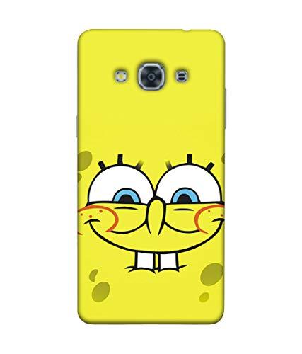 S SMARTY Samsung J3 Pro Spongebob Printed Hard Case Mobile Back Cover