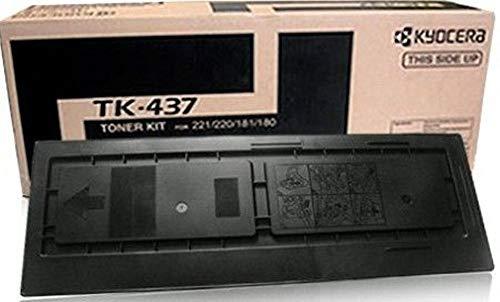 New Mita-Kyocera TK-437 OEM Toner: Black Yields 15,000 Pages