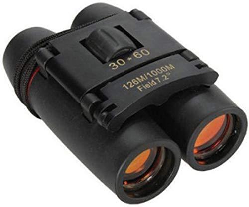 SHREVI IMPEX 30 X 60 Zoom Mini Travel Folding Day Night Vision Binoculars Telescope Night Vision for Outdoor Activity Hiking, Climbiing, Birdwatching, Boating Etc- Binoculars