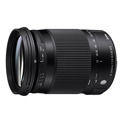 Sigma 18-300mm F3.5-6.3 DC Macro OS HSM Contemporary Lens for Nikon
