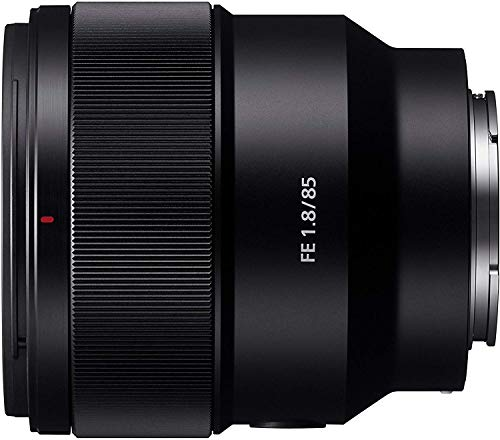 Sony SEL85F18 E Mount Full Frame 85 mm F1.8 Prime Lens (Black)
