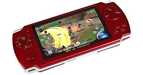 "Genericcc LEE.STAR PSP Game Player with Inbuilt 10000 Games , Hi-Speed USB Support, SRS Wow HD, Camera, 4GB Storage Along with 4.3"""" LCD Screen"