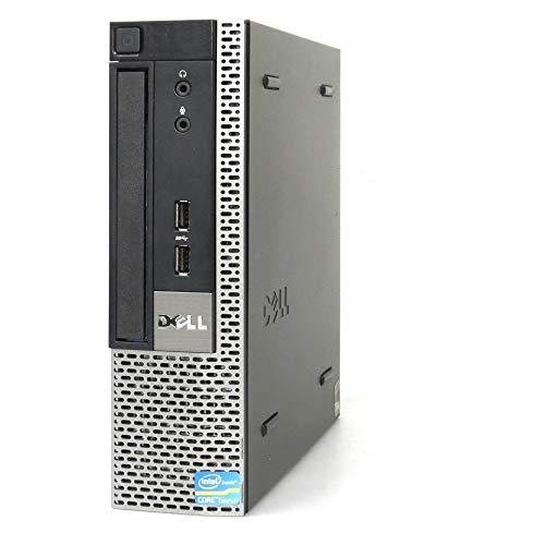 (Renewed) Dell Optiplex MINI 7010 Desktop USFF (Core I3 3220 3.30ghz, 4 GB RAM, 500gb HDD, Win 10 Pro, MS Office/ Intel HD Graphics/, USB 3.0, Ethernet,VGA), Black
