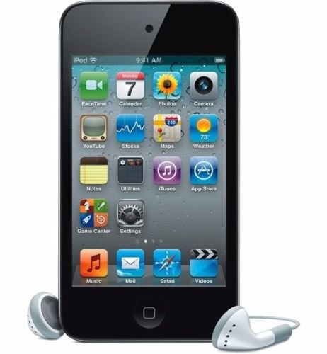 GoodGood Black For Apple iPod touch 32GB (4th Generation) +Screen Protector