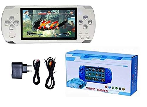 Medaline White PSP gaming console with Music, Alarm, videos MD_160