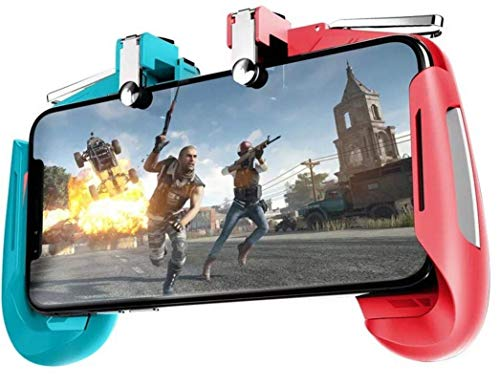 Jicson AK16 Mobile Game Controller for PUBG Gamepad with High Precision, Sensitive Shoot and Aim Joystick for Android, iOS