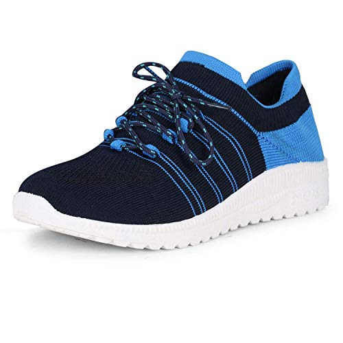 FASHIMO Walking & Running Gym Shoes for Women's and Girl's Blue