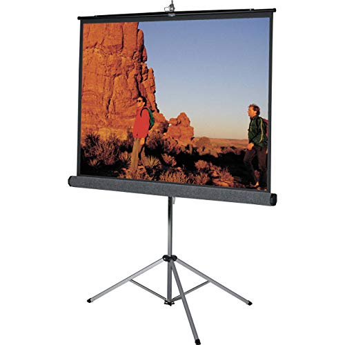 Urban Jungle Tripod/Portable Projector Screen, 6 feet X 4 feet | 84-Inch Diagonal in 4:3 Video Format
