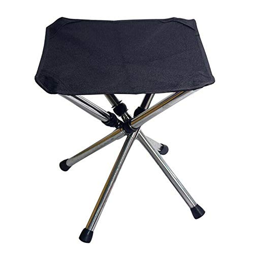 ELECTROPRIME Folding Telescopic Stool Compact Portable Fishing Chair Slacker Tripod Camp W4L9