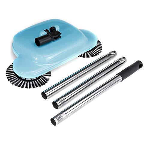The Perfect Lifestyles Plastic Hand Push Type Magic Broom Dustpan Handle Sweeping Machine (36 x 24 x 11 cm, Random Colour)