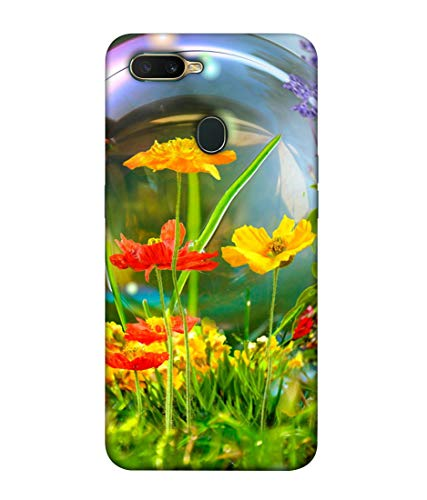 S SMARTY Beautiful Natural Live Printed Hard Case Mobile Back Cover for Oppo A7
