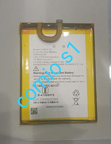 Techbloggers Mobile Battery Compatible for COMIO S1 2700 mAh Rechargeable Battery