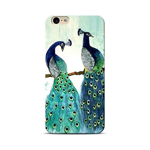 PropFactory Printed Peacock Phone Case /Back Cover for Smart Phone (I Phone XS)