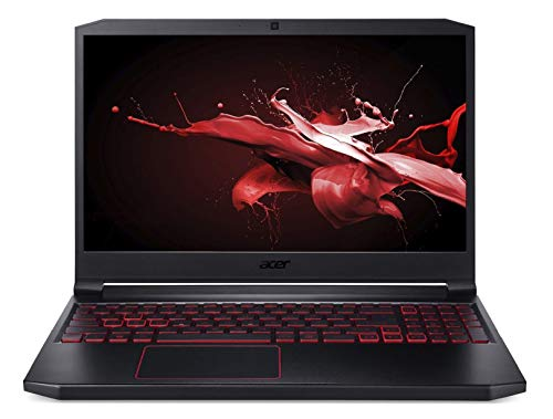 "Acer Nitro 7 AN715-51 15.6"" Full HD IPS Thin and Light Gaming Notebook(Intel Core i5-9300H processor/8GB Ram/1TB HDD + 256GB SSD/Windows 10 Home 64 bit/6GB of 1660Ti Graphics), Obsidian Black"