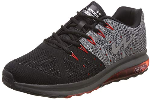 Campus Men's Peris Blk/D.Gry/Red Running Sport Shoe-7 UK (5G-633)
