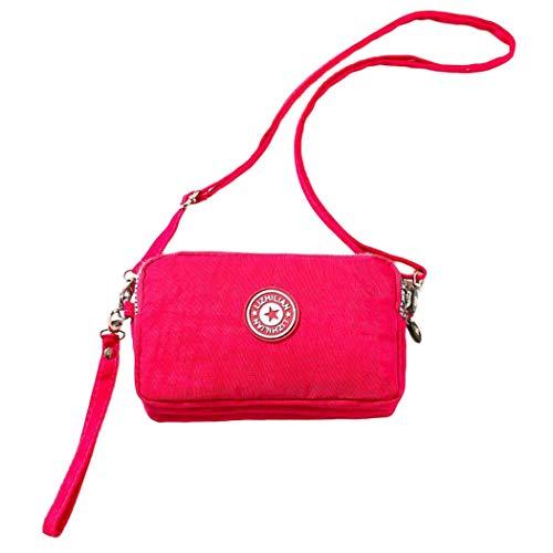 Bangcool Womens Satchel Bag Casual Zipper Phone Bag Coin Purse Mini Shoulder Bag