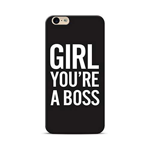 PropFactory Printed Girl You are The Boss Phone Case /Back Cover for Smart Phone (ONE Plus 8)