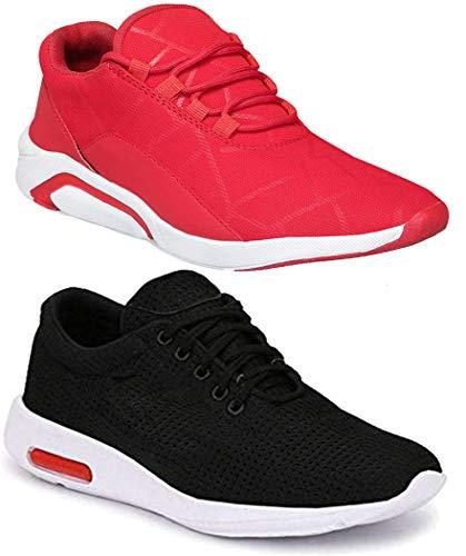 Camfoot Men's Running Shoes-9 UK (43 EU) (Multicolor Combo-(2)-1243-1200)