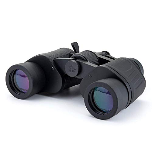 Diswa Power View 8-24x40 Zoom Binoculars for Long Distance Powerful Prism Outdoor Binocular Telescope with Pouch (Black)