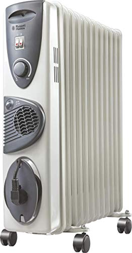 Russell Hobbs ROR 09F 9-Fin PTC 2400-Watt Oil Filled Radiator Room Heater