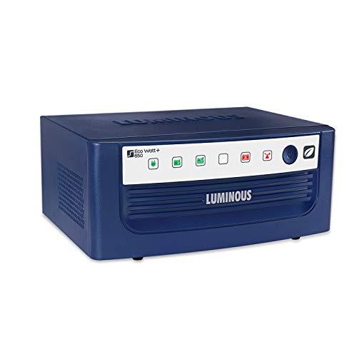 Luminous Eco Watt Inverter 650 VA/12V for Home