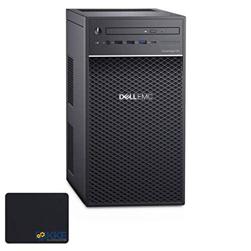 Dell PowerEdge T40 Tower Server, Intel Xeon E-2224 Processor, 16GB UDIMM Memory, 1TB Hard Disk Drive, DVD-RW, No Operating System, 3 Years Warranty