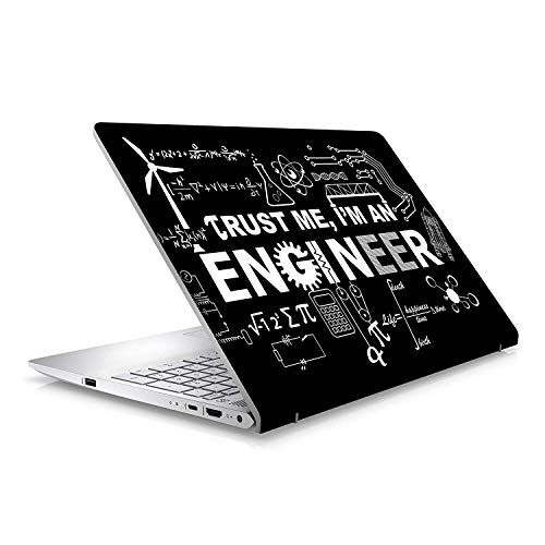 SCPmarts Create Your Desire SCPmarts Abstract Engineer Designs Laptop Skin for 15.6