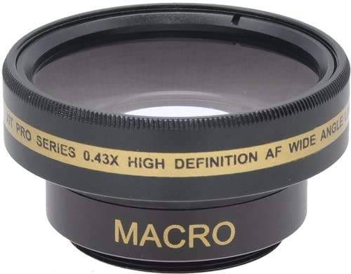 Quality Wide Lens for Sony DCR-DVD610, Sony DCRDVD110, Sony DCRDVD110E