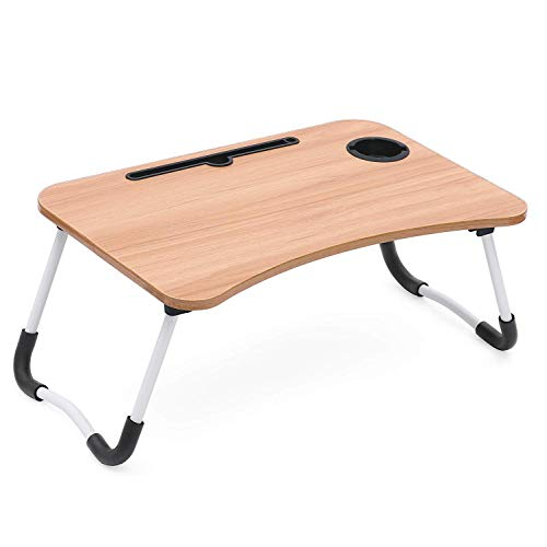 Fayby Smart Multipurpose Laptop Kids Study Bed Table,Dock Stand Portable Ergonomic & Rounded Non-Slip Legs (Multi Color)