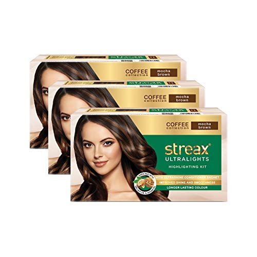 Streax Ultralights Hair Highlighting kit, offer yourself a gorgeous makeover with our vibrant shades and brighten up the way your hair looks