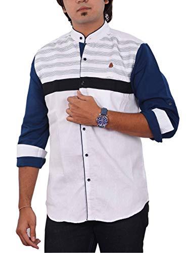 PP Shirts Men Casual White Shirt