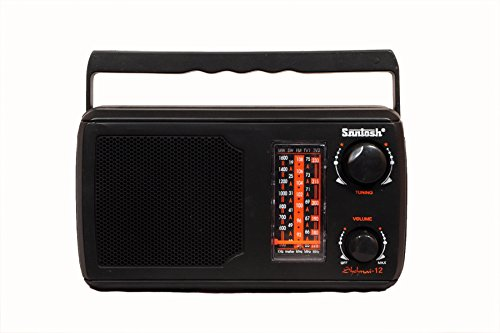 Santosh Five Band Portable FM Radio- Prince (Models May Vary)