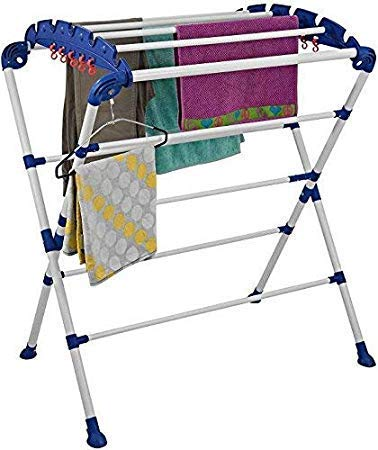 ZOSHOMI Cloth Dryer Stand - Mini Sumo - Very Easy to Assemble (Make in India)
