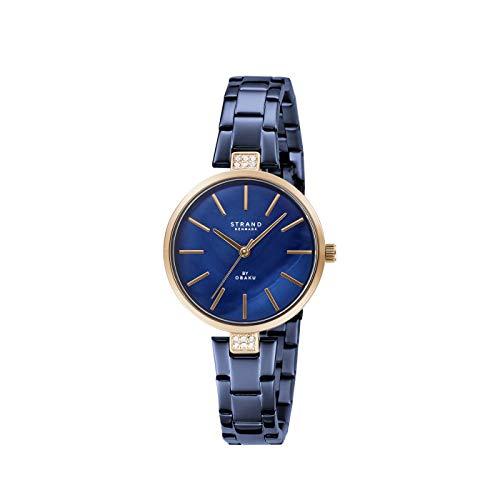 Strand By Obaku Ipanema Analog Blue Dial Women's Watch-S706LXVLSL