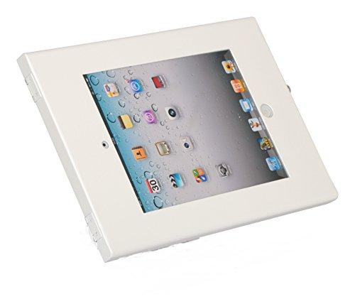 Precision Metal Works Tablet Kiosk Stand Holder for Apple iPad Pro 12.9 . Metal holder anti theft & tamper resistant