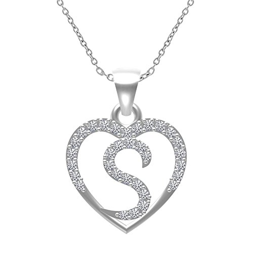 TWISHA ALBHABET LETTERS PENDANTS Silver Silver Plated Ring for Unisex