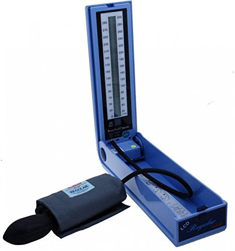 Diamond BP Apparatus LCD Regular (Velcro Cuff Battery) BPDG 034 Bp Monitor (Blue)