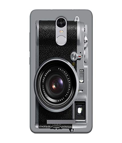 S SMARTY Designer Printed Plastic Mobile Back Case Cover for Redmi Note 3 (Fujinon Camera)