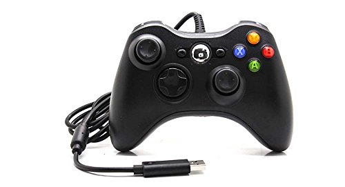 TCOS TECH Xbox 360 Wired Controller Gamepad Joystick for Xbox 360 and PC