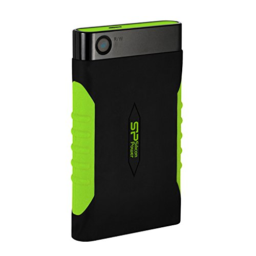 Silicon Power 2TB Rugged Armor A15 Military-grade Shockproof USB 3.0 2.5-inch Portable External Hard Drive for PC and Mac (SP020TBPHDA15S3KAZ)